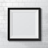 Realistic frame Royalty Free Stock Photos