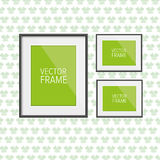 Realistic frame vector Stock Images