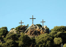 Realistic Golgotha Royalty Free Stock Images