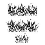 Realistic grass Royalty Free Stock Images