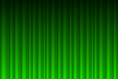 Realistic green curtain Stock Images