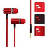 Realistic headphones Royalty Free Stock Image
