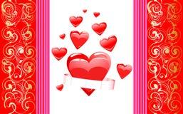 Realistic heart illustration Royalty Free Stock Photos