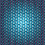 Realistic hexagonal grid background. Stock Photography