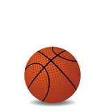 Realistic illustration of basket ball Royalty Free Stock Photography