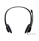 Realistic illustration of headset Royalty Free Stock Photos