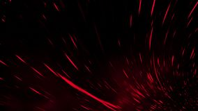 Realistic isolated red effect for decoration and covering on black background. Concept of particles , sparkles, flame and light. Realistic isolated red effect royalty free stock photo