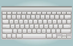 Realistic keyboard  vector Stock Images