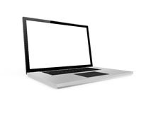 Realistic Laptop Royalty Free Stock Images