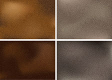 Realistic leather textures Stock Photo