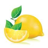 Realistic lemon Royalty Free Stock Photos