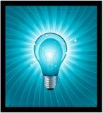 Realistic light bulb Royalty Free Stock Photos
