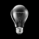 Realistic light bulb Royalty Free Stock Photography