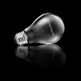 Realistic Light Bulb Reflection Stock Images