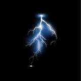 Realistic lightning Royalty Free Stock Images