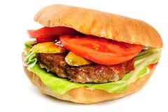 Realistic looking hamburger Royalty Free Stock Image