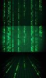 Realistic Matrix Background Royalty Free Stock Photography