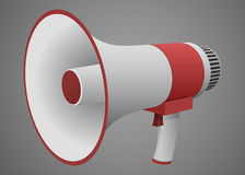 Realistic Megaphone isolated Stock Photography
