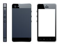Realistic mobile phone Royalty Free Stock Images