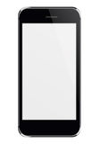 Realistic mobile phone with blank screen. Royalty Free Stock Photo