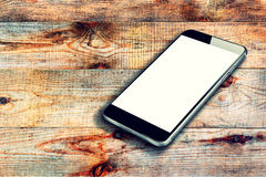 Realistic mobile phone. Royalty Free Stock Photography