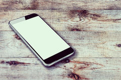 Realistic mobile phone Royalty Free Stock Photos