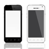 Realistic mobile phone template Stock Photo
