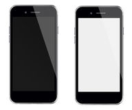 Realistic mobile phones. Royalty Free Stock Images