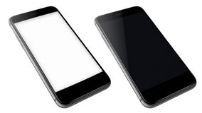 Realistic mobile phones. Stock Photography