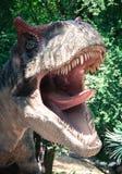 Realistic model of dinosaur Stock Image