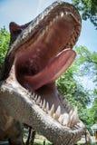 Realistic model of dinosaur Royalty Free Stock Photography