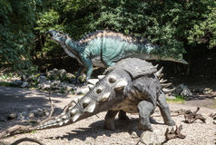 Realistic model of dinosaur Royalty Free Stock Photos