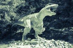 Realistic model of dinosaur - Gigantosaurus Stock Photography