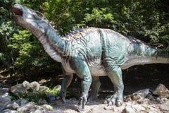 Realistic model of dinosaur Iguanodon Royalty Free Stock Image