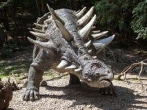 Realistic model of dinosaur Segnosaurus Stock Image