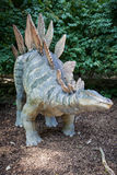Realistic model of dinosaur - Stegosaurus Stock Photo