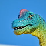 Realistic model of dinosaur Stock Images