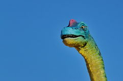 Realistic model of dinosaur Royalty Free Stock Photos