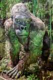 Realistic model of prehistoric animal Stock Photography