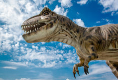 Realistic model of a Tyrannosaurus Royalty Free Stock Photography