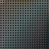 Realistic modern metal background. With color reflections and perforated texture Royalty Free Illustration