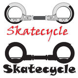 Realistic modern Skatecycle vector object Royalty Free Stock Image