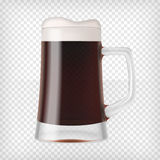 Realistic Mug with Beer Stock Photos