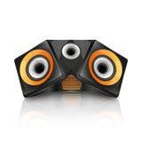 Realistic music speaker Royalty Free Stock Image