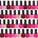 Realistic Nail Polish Seamless Pattern Background Royalty Free Stock Photo
