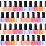 Realistic Nail Polish Seamless Pattern Background Royalty Free Stock Image
