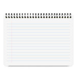 Realistic Notebook Size A4 with Horizontal Line Royalty Free Stock Image