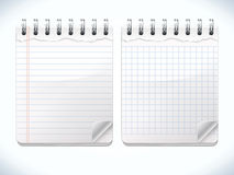Realistic Notepads Royalty Free Stock Image