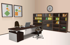 Realistic Office Interior Stock Photos
