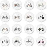 Realistic Old, Extreme Biking, For Girl And Other Vector Elements. Set Of Bike Realistic Symbols Also Includes Training Royalty Free Stock Images